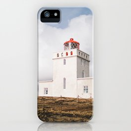 Dyrhólaey Lighthouse iPhone Case