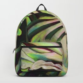 Green Face Backpack