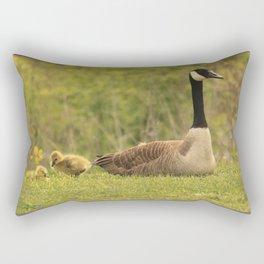 Canada Goose Family Rectangular Pillow