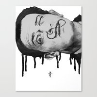 dali Canvas Prints featuring Dali by -KP-