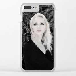 """VAMPLIFIED """"Creeping Vines"""" Clear iPhone Case"""
