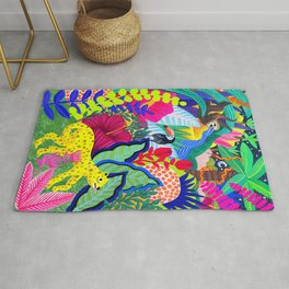 Jungle Party Animals Rug