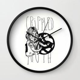 Crippled Youth Wall Clock