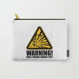 Obvious Explosion Hazard Carry-All Pouch