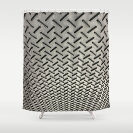 Ceiling Carpet. Fashion Textures Shower Curtain