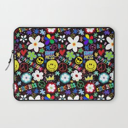 PMO colorful collage Laptop Sleeve