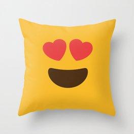 Love Face Throw Pillow