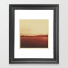 astoria bridge Framed Art Print