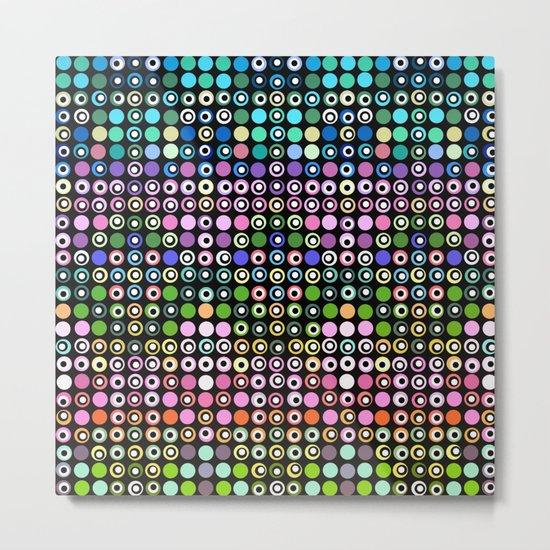 Dot Matrix... Metal Print