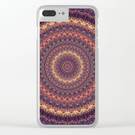 Mandala 590 Clear iPhone Case