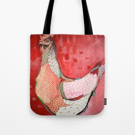 Little Red Hen Tote Bag