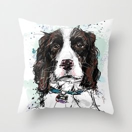 Bouvier Throw Pillow