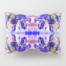 Shattered Blues Pillow Sham