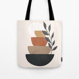 Branch and Balancing Elements Tote Bag
