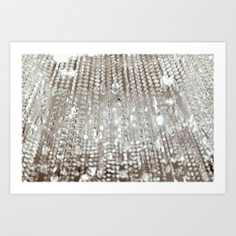 Crystals and Light Art Print