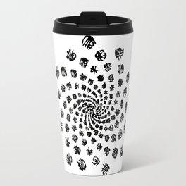 Fibonacci pattern Travel Mug