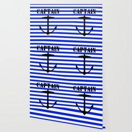 Captain and anchor logo Wallpaper