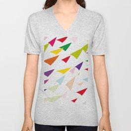 colored arrows Unisex V-Neck