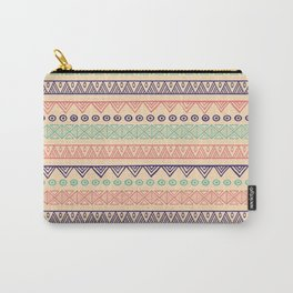 Pink Hand Drawing Carry-All Pouch