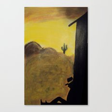 Just an Ol' Cowboy Canvas Print