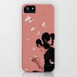Becoming the Birds iPhone Case