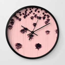 Poisoned garden Wall Clock