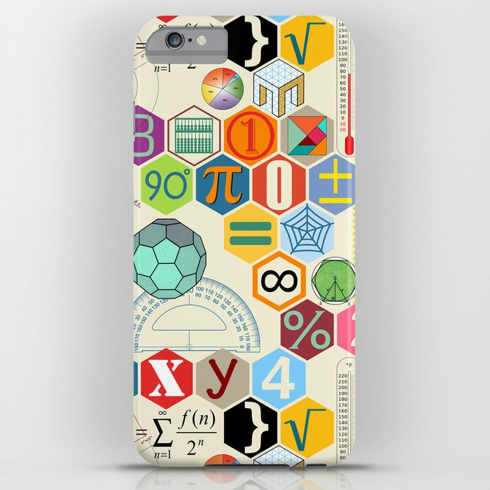 Math in color (little) iPhone Case