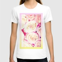 gradient T-shirts featuring Gradient Roses by Cecilie Karoline