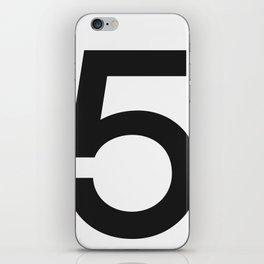 No. 5 — White iPhone Skin