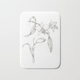 An Orchid with Charisma Bath Mat