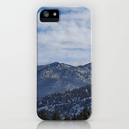 The Mountains of Lake Tahoe iPhone Case