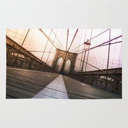 Brooklyn Bridge, New York City Rug