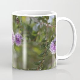 California bees pollinating native flowers Coffee Mug