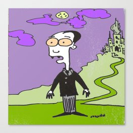 Dracula's Brother Larry.  Canvas Print