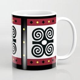 African Akan Adinkra Dwennimmen Coffee Mug