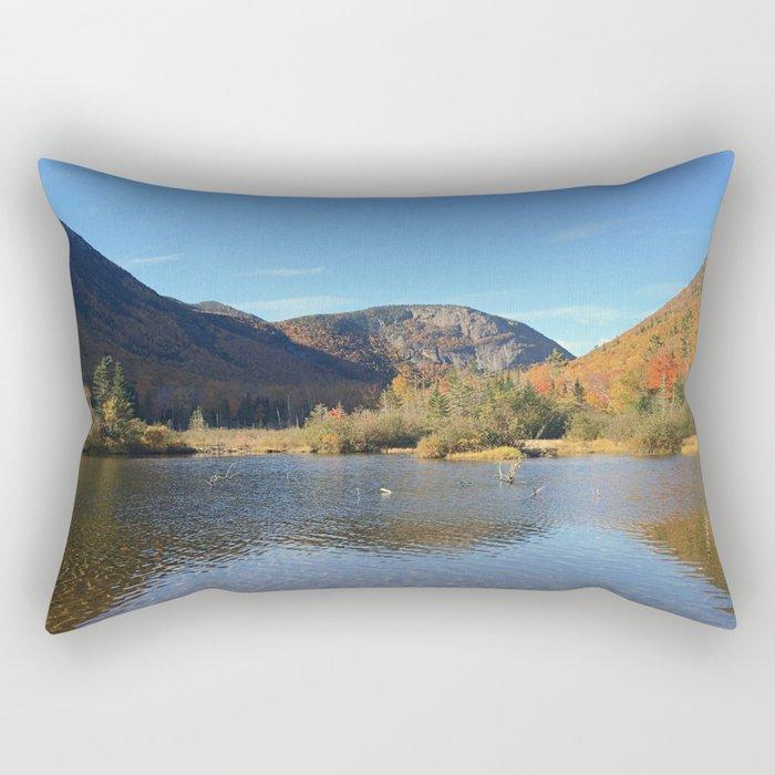 Crawford Notch-Fall Rectangular Pillow