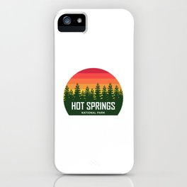 Hot Springs National Park iPhone Case