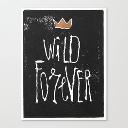 Wild Forever Canvas Print