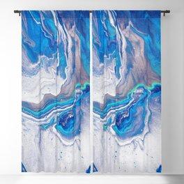 White Blue Galaxy - Milky Way Blackout Curtain