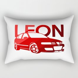 Seat Leon Cupra R - classic red - Rectangular Pillow