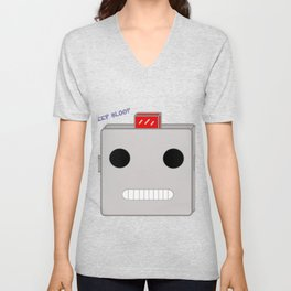 Your Robot Overlord Unisex V-Neck