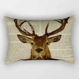 Lord Stag Rectangular Pillow