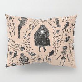 Creatures of the Night (orange) Pillow Sham