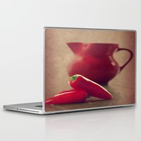 moulin rouge Laptop & iPad Skins featuring Rouge by Tanja Riedel