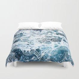 Ocean Mandala - My Wild Heart Duvet Cover
