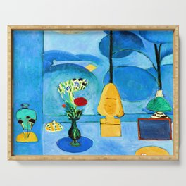 Henri Matisse Blue Window Serving Tray