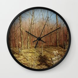 His Piece of Heaven: True Freedom Wall Clock