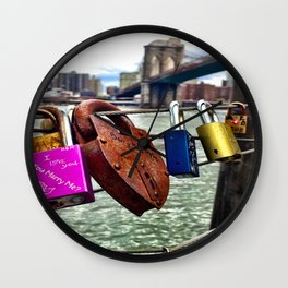 Under Lock and Key  Wall Clock