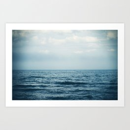 sink or swim. Art Print