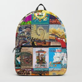 Amusement Rides Backpack
